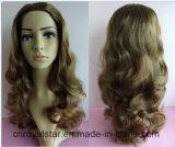 Alta calidad peluca de Remy de moda femenina del pelo pelucas sintéticas
