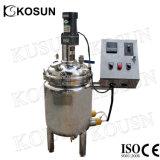 Réacteur de réservoir remué continu d'acier inoxydable