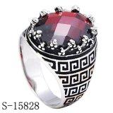 Juwelen 925 van de halfedelsteen Echte Zilveren Ring