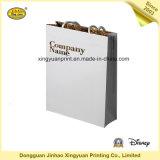 Sacs en papier enduits de modèle de cadeaux d'affaires avec le laminage (JHXY-PB16041306)