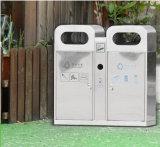 公共庭の屋外のステンレス鋼のゴミ箱(HW-80)