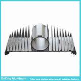 Perfil de aluminio industrial del disipador de calor de la precisión