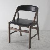Furniture di legno Classical Style Dining Chair con Soft Leather Seat