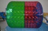 Rouleau gonflable de l'eau, rouleau de marche de l'eau, rouleau humain de pelouse, rouleau gonflable drôle de roue, boule de roulement