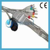 Кабель Kenz PC-104 цельный 10-Lead EKG с Leadwires