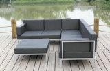 Casual Selectional Metal Sofa Set Muebles de jardín de aluminio al aire libre