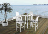Outdoor Beach Bar Table Club Bar Table Waterproof mesa de rotinho PE (YTD249)