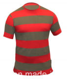 T-shirts en gros de coton de piste de Mens (A033)