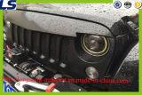 Le gril fâché d'oiseau de maille avec la maille insère le réseau pour la jeep Rubicon Sahara