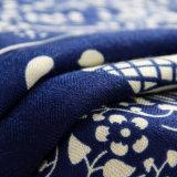 Arbeitsweg-Begleiter-blauer Voile-Elefant gedruckter Schal