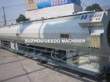 Gaz d'eau de HDPE fournissant la ligne d'extrusion de pipe de Soild