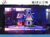Visualizzazione di LED dell'interno di alta definizione che fa pubblicità alla video parete