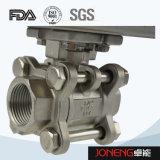 Шариковый клапан нержавеющей стали санитарный двухсторонний продетый нитку (JN-BLV2003)