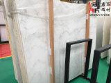 カウンタートップまたは床タイルのための高品質の東洋の白い大理石の平板