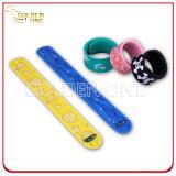 Fabrik-Preis-unterschiedlicher Karikatur-Muster-Silikon-VerschlussWristband