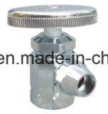 Плакировка крома выковала угловой вентиль пирофакела латунный с ручкой цинка