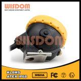 Lámpara de seguridad a prueba de explosiones del minero de la lámpara de casquillo del minero Kl8ms, lámpara de casquillo
