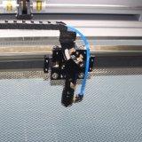 Posicionando a máquina de gravura do laser para os produtos de bambu (JM-1080H)