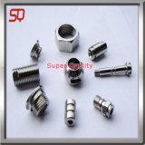 Parte di alluminio della macchina del tornio di CNC dell'OEM, pezzi meccanici di CNC
