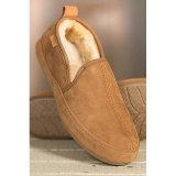 La zalea puramente hecha a mano calza los zapatos de interior de los deslizadores