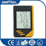 avec le thermomètre numérique multifonctionnel d'hygromètre et d'horloge pour montrer la température, humidité