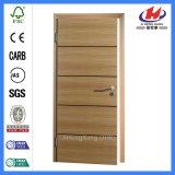 Дверь Veneer стальной конструкции обеспеченностью нутряная деревянная (JHK-FC04)