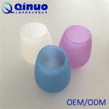 Kundenspezifisches zusammenklappbares flexibles unzerbrechliches Silikon-Wein-Glas