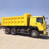 Sinotruk 트럭 336/371HP HOWO 6X4 팁 주는 사람 덤프 트럭