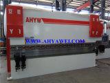 AhywアンホイYaweiマニュアルの背部ゲージの油圧ベンダー機械