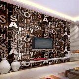Wallcovering, papel de empapelar del PVC, tela moderna de la pared del PVC del estilo, papel pintado del PVC