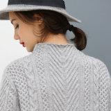 Конструкция свитера ощупывания мягкой руки свитера высокого качества Silk связанная кашемиром