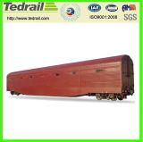 Coche de carga ferroviario del carro de la mina