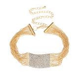 Halsband van de Elementen van de Straal van de Parels van de Diamant van de manier de Grote