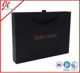 Luxuxverpackungs-Kasten, Papierkasten, Kleid-Geschenk-Kästen mit Griff