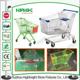 Achats Mall Metal Shopping Cart Trolley avec Baby Seat