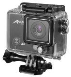 De originele Camera 1080P 2.0 van de Sport van Cameraultra HD 4k WiFi van de Actie LCD 120d de Helm van de Lens PRO Onderwater Waterdicht van de Nok/gaan van Duitsland verscheept