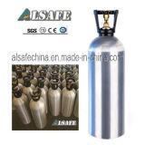 Размеры баллона углекислого газа Alsafe алюминиевые