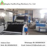 Le double automatique de machine d'enduit de mousse de textile a dégrossi laminage de film adhésif
