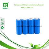 cellules de batterie rechargeables d'ion de lithium de 3.7V 2200 heure-milliampère 18650 pour l'ordinateur