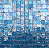 bleu en verre de tuiles de mosaïque de piscine de 23*23*8mm (TR12)