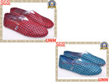 Chaussures de toile de plaid (SD6201)