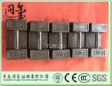 무쇠는 자물쇠 시험 무게 5kg 10kg 20kg 제어 장치를 무겁게 한다