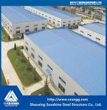 Almacén de la estructura de acero de la luz del bajo costo de China