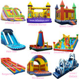 Jouets gonflables de videurs : Amusement Castle plein d'entrain, Slide, Tunnel, Obstacle, etc.