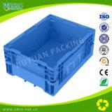 プラスチックNestable木枠を折る青いカラー