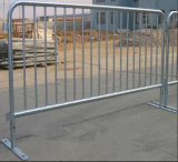 Barrera de acero del tráfico movible con la barrera de los pies/camino del puente