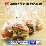 現実的なベーゲルのパンによって焼かれる食糧プラスチック包装袋