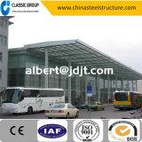 Coût préfabriqué économique de salle d'exposition de véhicule de structure métallique