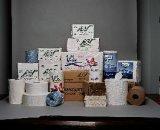 Het zachte Niet gebleekte JumboBroodje van het Toiletpapier van het Broodje van het Weefsel 2ply