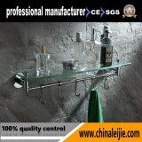 Glasregal mit Haken für Badezimmer (Lj55413A